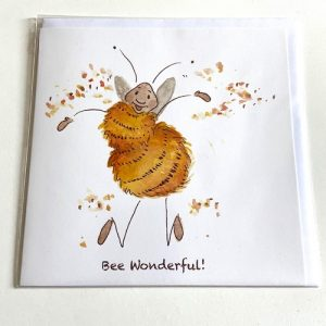 Art Card – Bee Wonderful