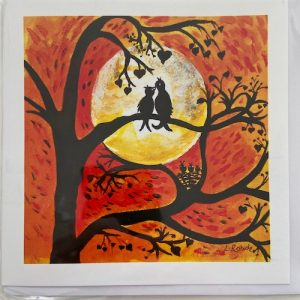 Art Card – Love Birds
