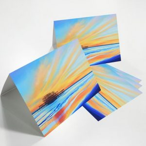 Art Card -West Pier, Brighton (SD)