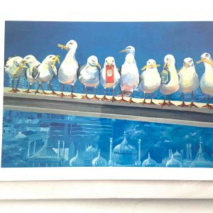 Art Card – Seagulls Who Forgot The Fish?