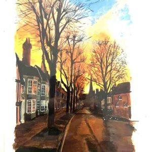 Art Card – Horsham High Street
