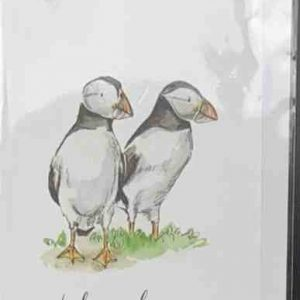 Art Card – Puffin Thank You