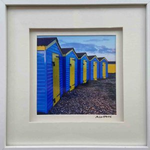 Framed Photography – Beach Huts