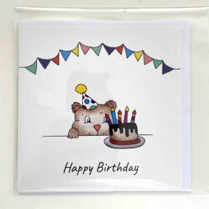 Art Card – Bear Birthday (Copy)