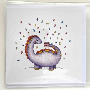 Art Card – Dino Birthday