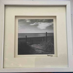 Framed Photography – West Beach Black & White