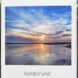 Art Card -Rustington Sunset