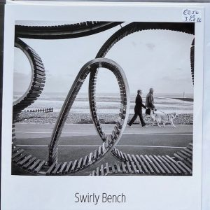 Art Card -Swirly bench