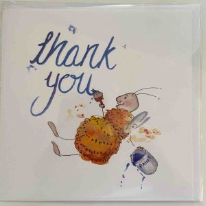Art Card – Thank You Bees
