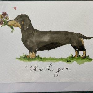 Art Card – Thank You (Dog)