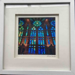 Framed Photography – Pipes (La Sagrada Familia)