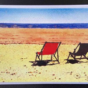 Art Card – Deckchairs