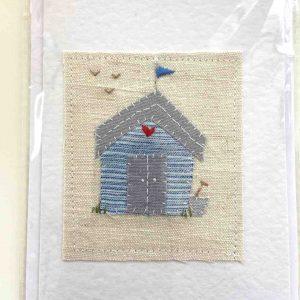 Art Card – Website Exclusive – Beach Hut (spade)