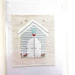 Art Card – Website Exclusive – Beach Hut (white door)