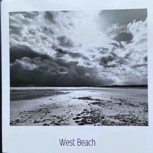 Art Card – Littlehampton West Beach (bnw)