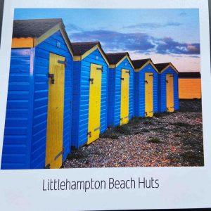 Art Card – Littlehampton – Beach Huts