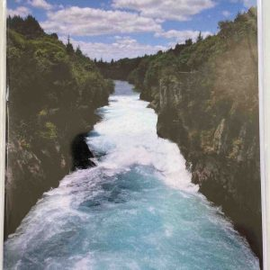 Art Card – Huka Falls (New Zealand)