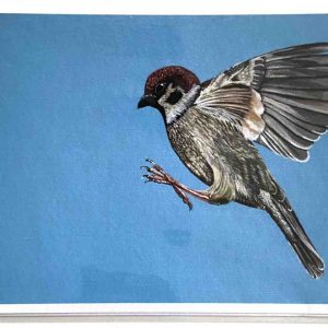 Art Card – Bird in Flight