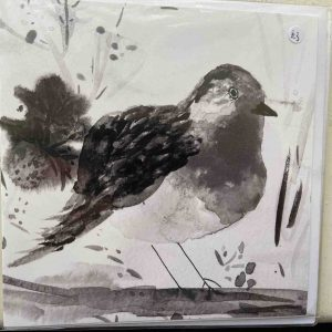 Art Card – Bird (BNW) (PP)