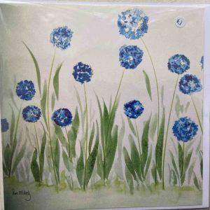 Art Card – Blue Heads (PP)