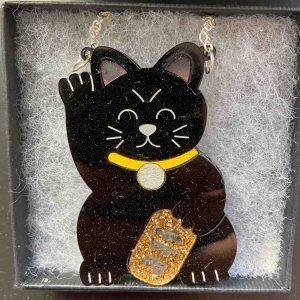 Jewellery – Black Cat Necklace