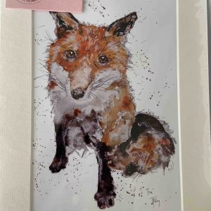 Mounted Prints – The Fox