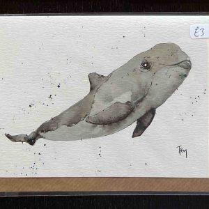 Art Card – Whale (TP)