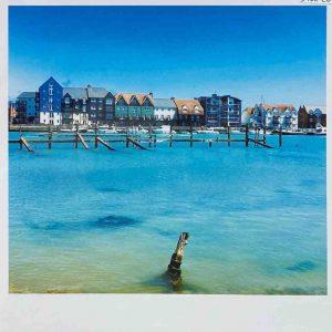 Art Card – Littlehampton (West Side Blue)