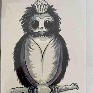 Art Card – Owl