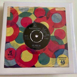 Art Card – She Loves You – The Beatles