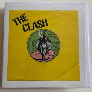 Art Card – White Man In Hammersmith Palais – The Clash (Yellow)