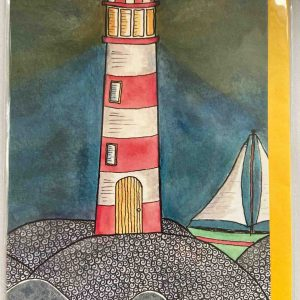 Art Card – Glowing Beacon