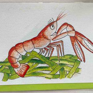 Art Card – Happy Langoustine