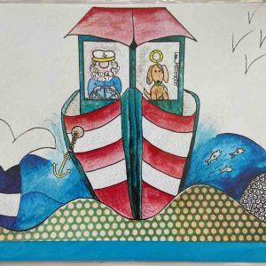 Art Card – Salty Sea Dog