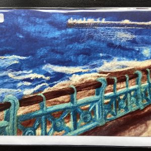 Art Card – Brighton Seascape  (MTB) Felted Reproduction