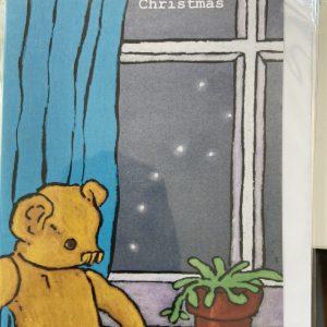 Art Card – Bear & Lights (Xmas Range)