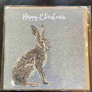 Art Card – Xmas Rabbit – Lellibelle