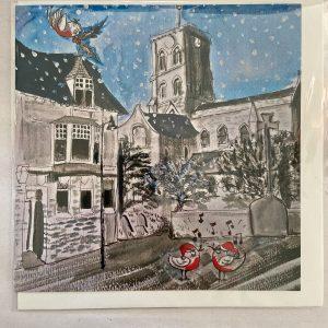Art Card – Christmas Robins (Xmas Range)