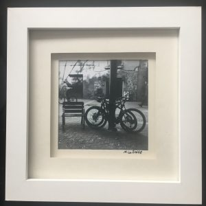 Barcelona Backstreets Project – Untitled (2 Bikes & Bench)