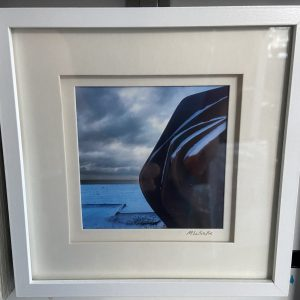 Framed Photography – East Beach Cafe (Snow)