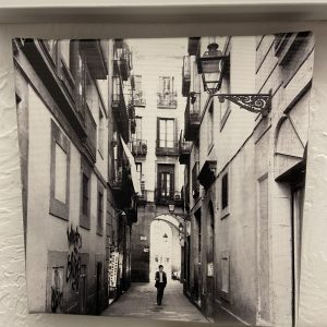 Barcelona Backstreets Project – Untitled (Lone Man)