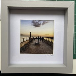 Framed Photography – Pier At Sunset