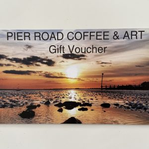 Voucher £10 Pier Road Coffee & Art and Beach Road Gallery