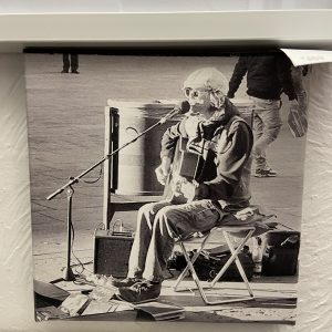 Barcelona Backstreets Project – Untitled (Busker) (canvas)
