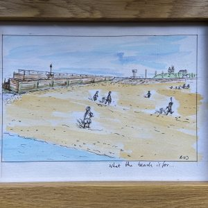 Original Paintings – What The Beach Is For…