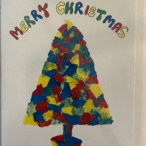 Art Card – Christmas Tree (Xmas Range)