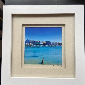 Framed Photography – Untitled (West Side Blue)