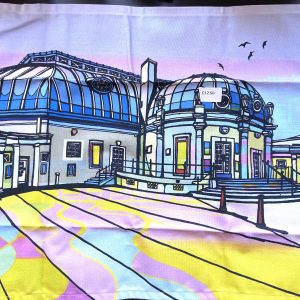 Tea Towel – Pier (Worthing) – Two Faced Twins