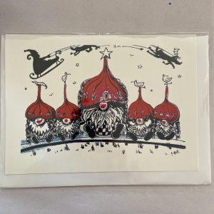 Art Card – Brighton Gnomes (Xmas Range)