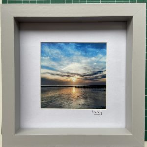 Framed Photography – Rustington Sunset